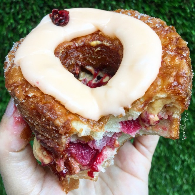 Pumpkin Cranberry Cronut, you are amazing.
