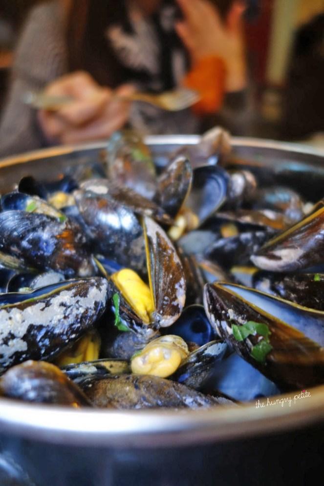 Belgian Beer Café Olivier - Mussels