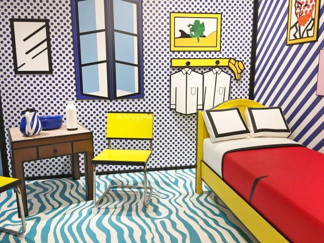 Roy Lichtenstein 3D room