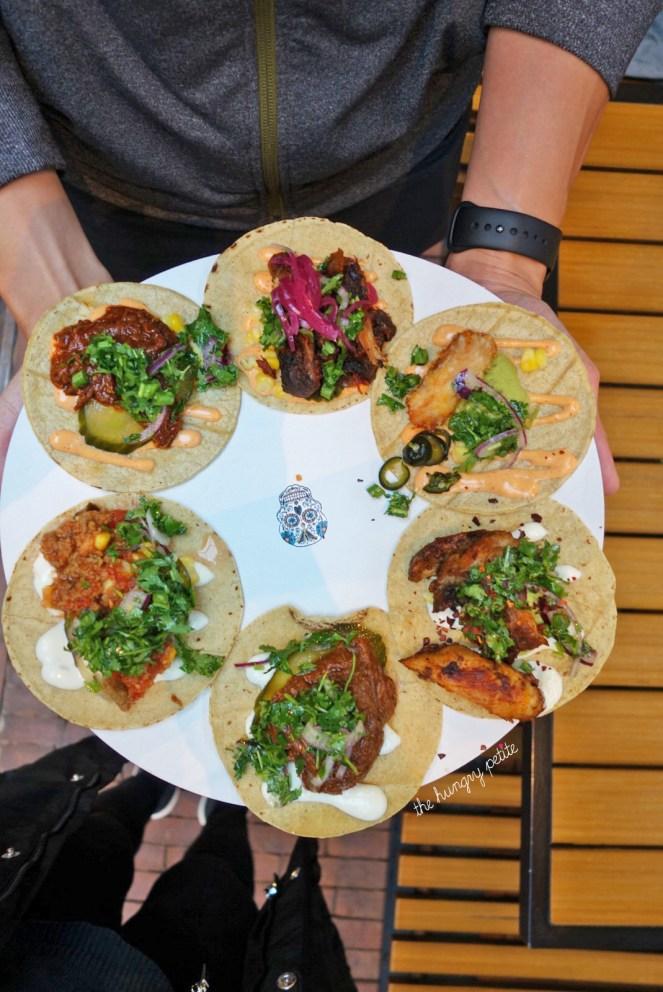 Tacos from Taqueria Lima