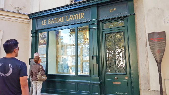 "Le Bateau-Lavoir (""The Boat Wash-house""). Picasso painted Garçon à la pipe (Boy with a Pipe) here in 1905."
