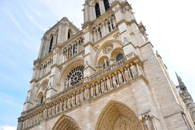 Notre Dame on a sunny day