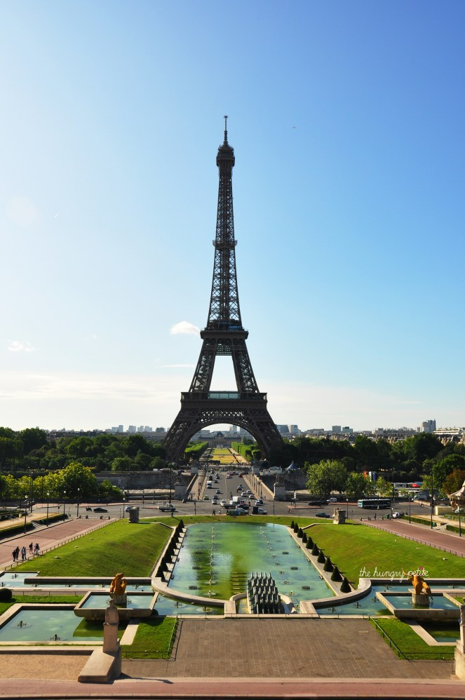 I recommend getting to the Eiffel Tower from the Trocadéro. Just look at that view!