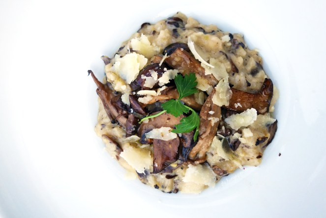 Truffle Risotto- wild mushrooms, Parmesan. I love truffle. I love risotto. This was a clear winner.