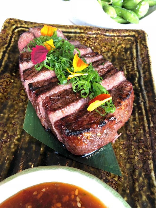 Snake River Farm Filet with Chili Ginger
