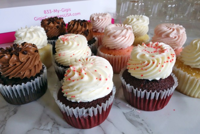 Their cupcakes are made fresh daily with the same high-quality ingredients used in Gigi's nearly 100 bakeries.