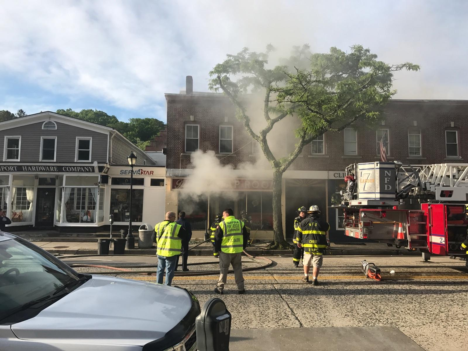 Fire Devastates Gunthers Tap Room in Northport  The Huntingtonian