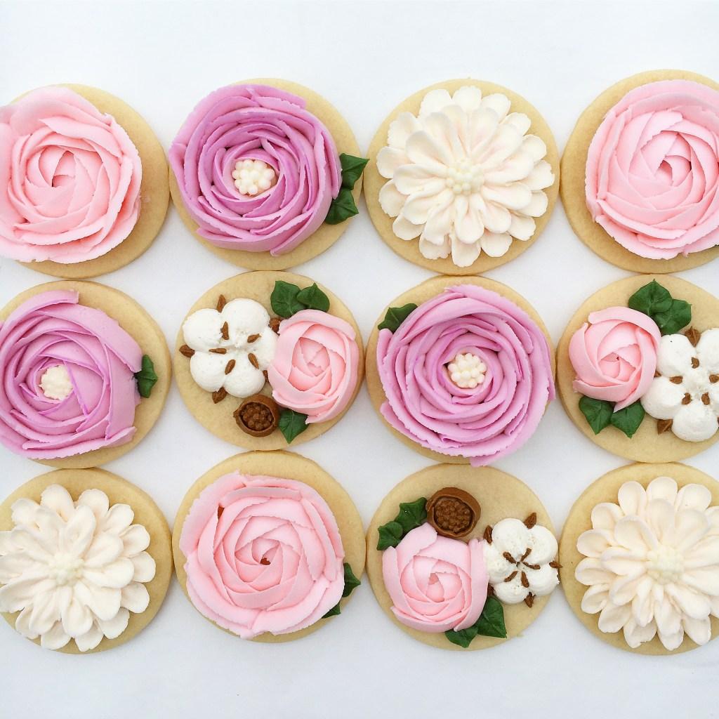 My Flower cookies