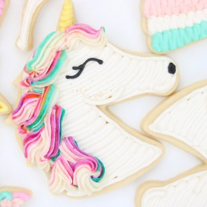 Unicorn cookie tutorial