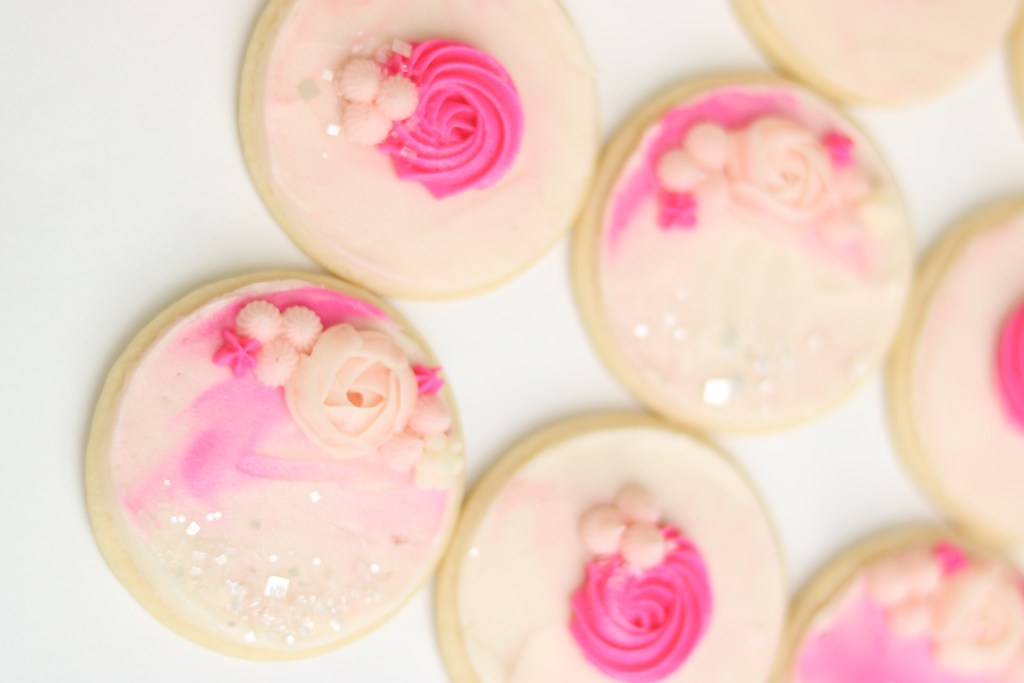 Buttercream cookie photo tutorial