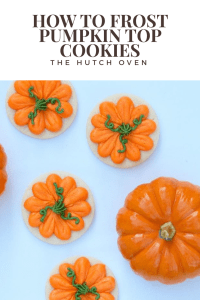 pumpkin top cookies thanksgiving