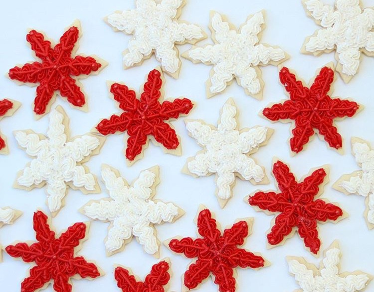 Snowflake Christmas Cookies The Hutch Oven