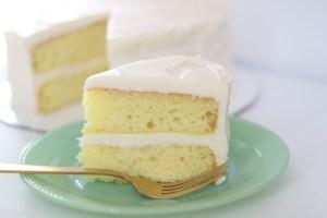 easy and moist lemon cake recipe
