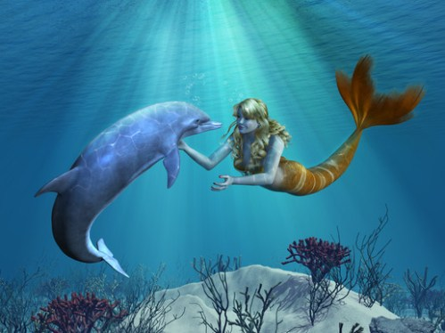 Daniera and Zibby the Mermaids
