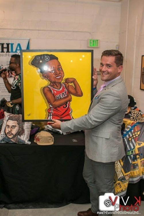 Quincy Brown and Echo Hattix E-Motion Artshow Artmobb Casey Athena Califawnia