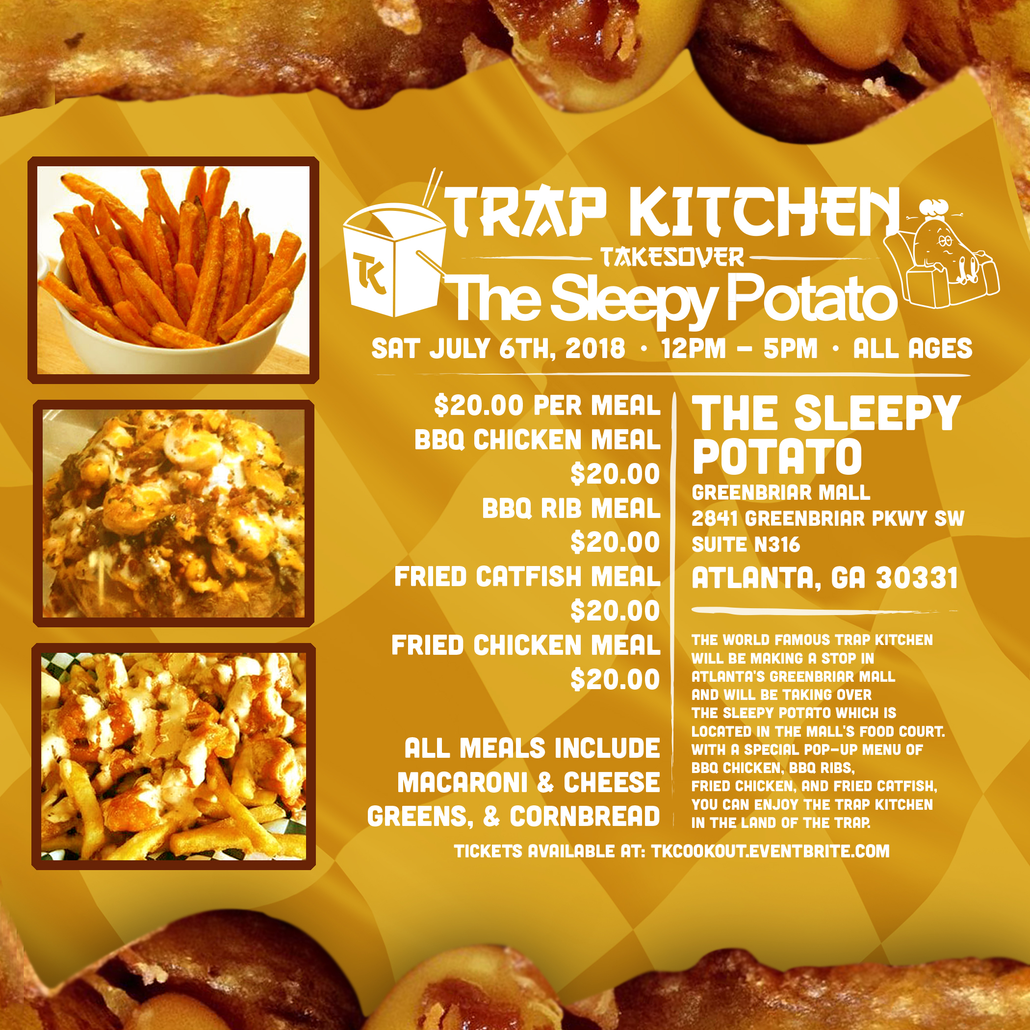 More info on The Trap Kitchen