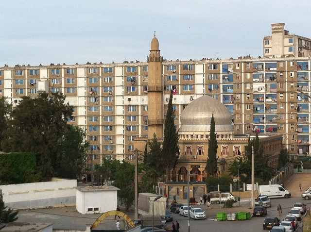 Noor Mosque serves an economically disadvantaged area east of Algiers. Photo by Larbi Megari.