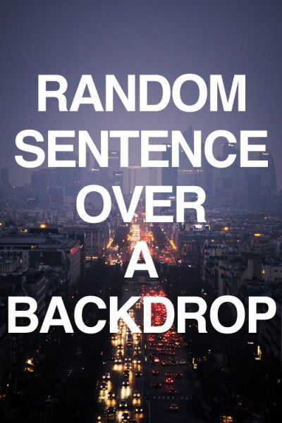 random_sentence