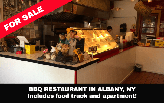 restaurant food truck apartment for sale Albany NY