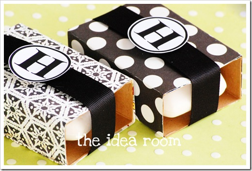monogrammed soaps