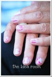 water marble nail polish
