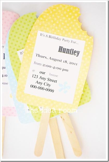 birthday party invitation idea
