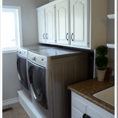 Kitchen Cabinets Wood Dutch Boy And Bath Paint Laundry Room Update & Lowes Giveaway - The Idea