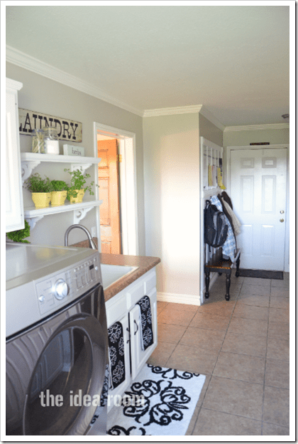 Laundry Room Update Amp Lowes Giveaway The Idea Room