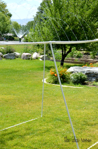 PVC Sprinkler: Lowes outdoor challenge - The Idea Room