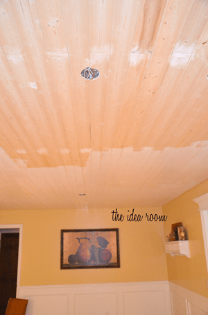 kitchen remodeling projects barbie sets how to diy a wood plank ceiling