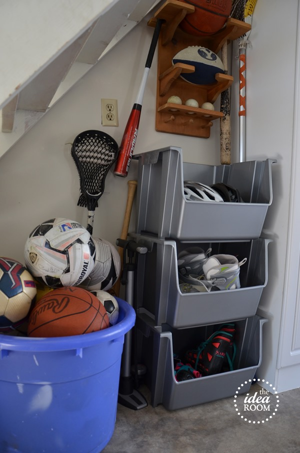 Organize Garage Clutter  The Idea Room