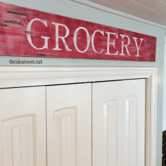 Wooden Signs For Kitchen Remodeling Companies Wood Sign The Idea Room