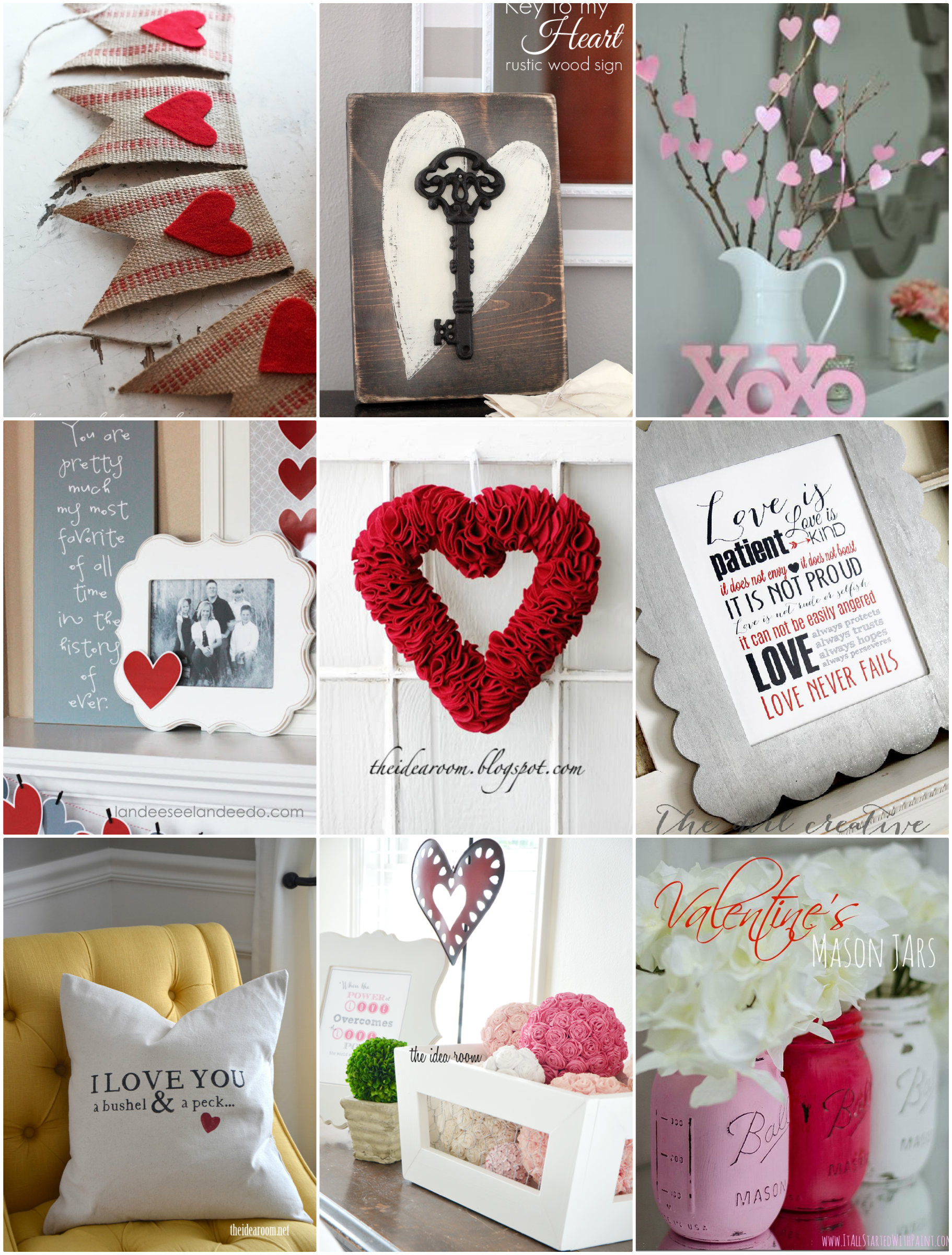 Valentines Day Decor Round Up  The Idea Room