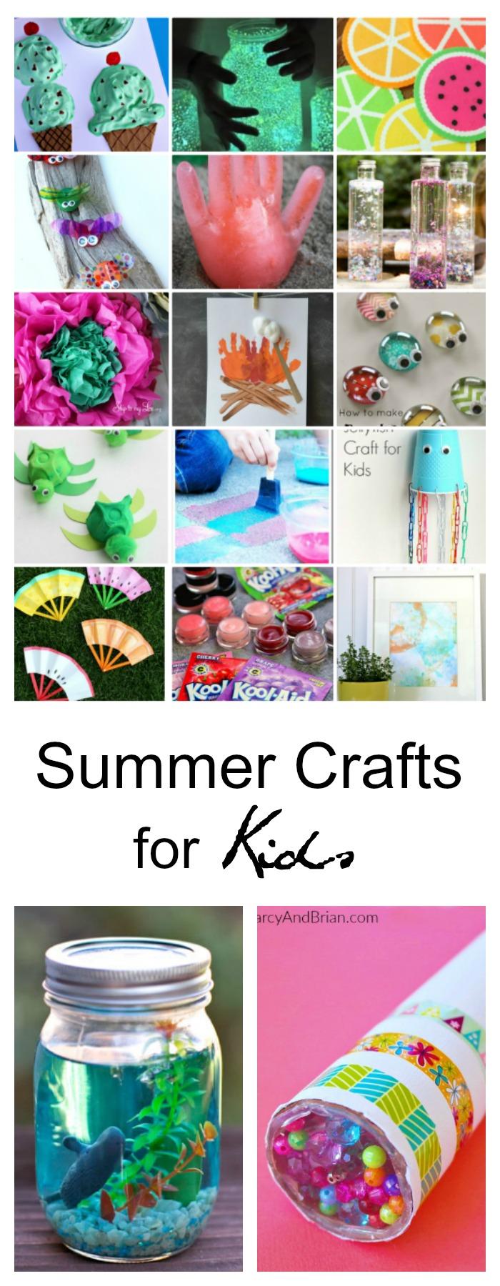 40 creative summer crafts