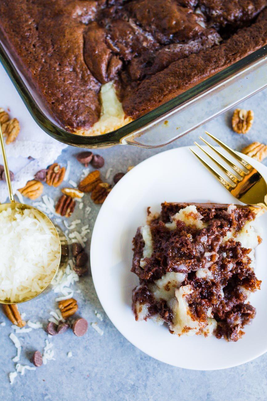 Chocolate Cake Earthquake Cake Recipe