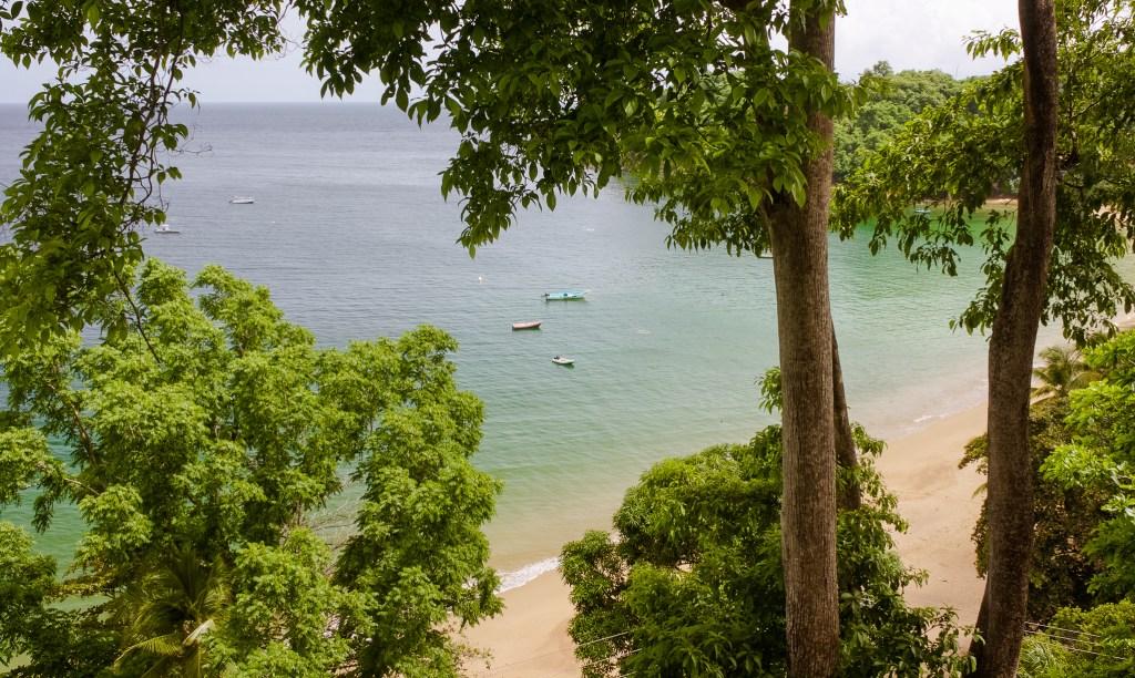 Beaches in Tobago, Castara Bay