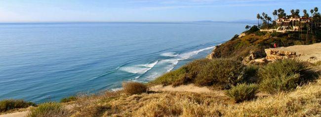 san diego beaches and cliffs