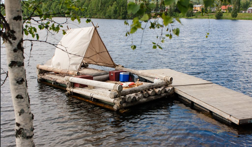 Rafting in Gold of Lapland, wellness travel
