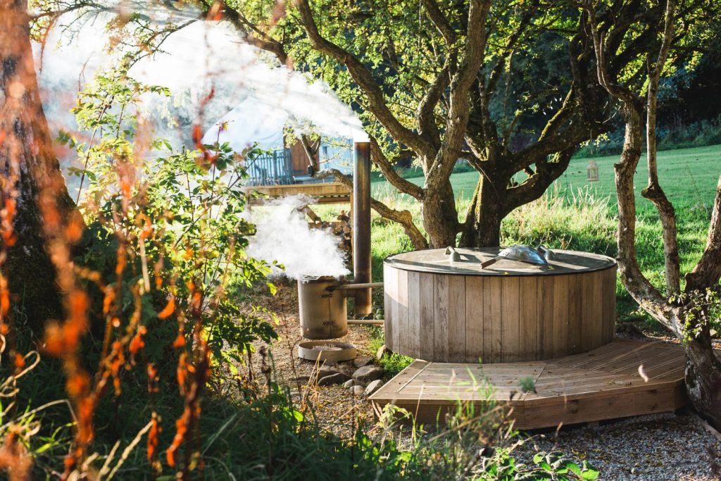 Ecotourism and luxury glamping at Rock Farm Slane, Ireland