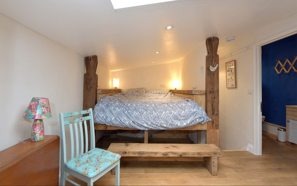 The bedroom in Eco House Room 212