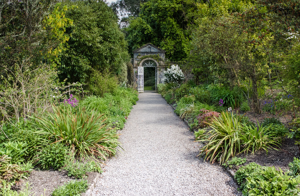 Garnish Island, walled garden