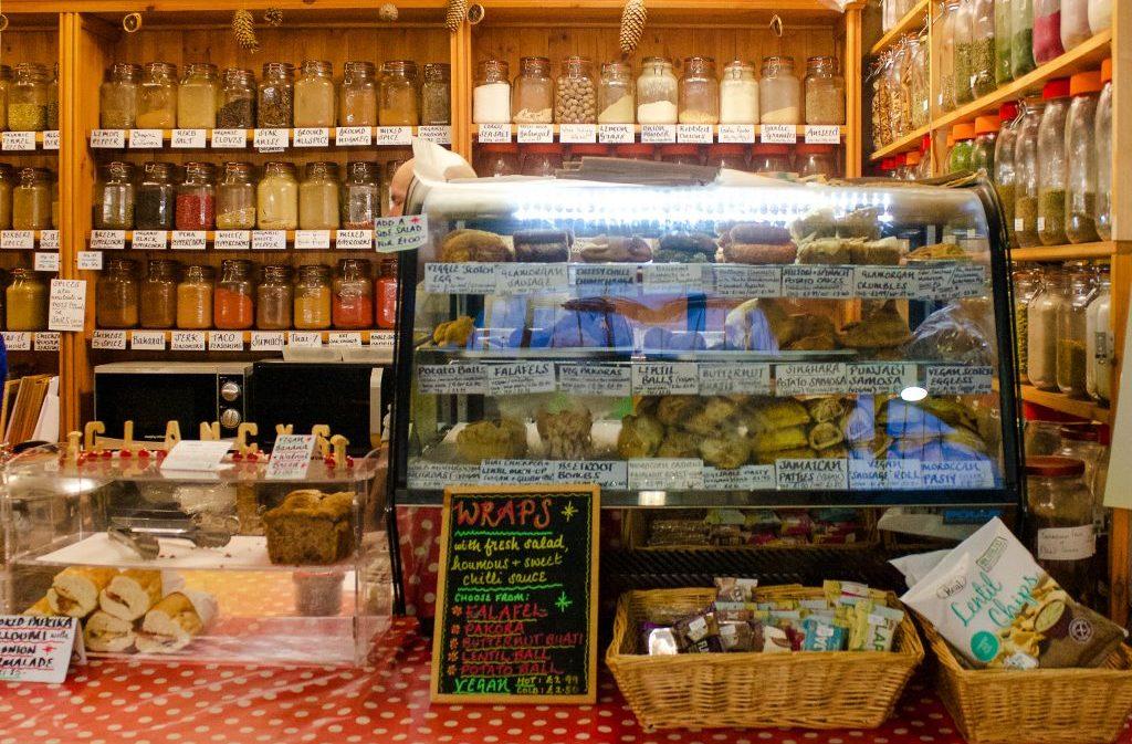 vegetarian and vegan restaurants in Cardiff - Vegetarian Emporium