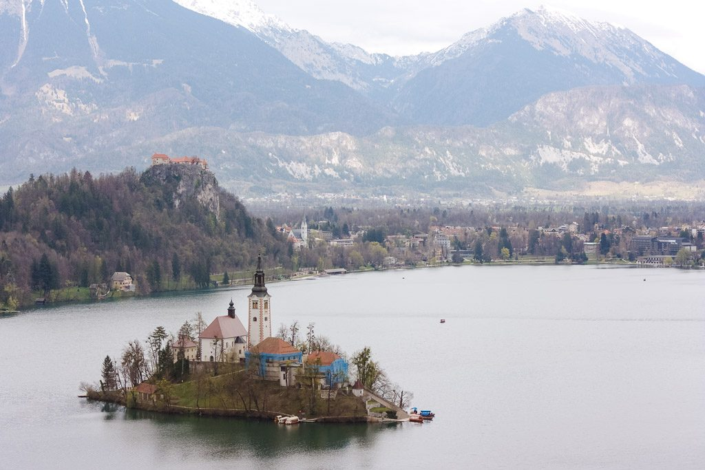 Osojnica, viewpoint in Lake Bled