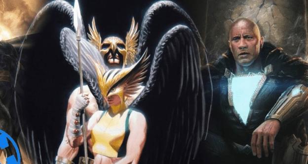 Hawkman Hawkgirl Black Adam