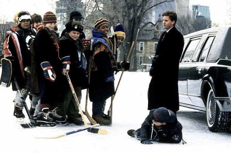 Emilio Estevez and The Mighty Ducks