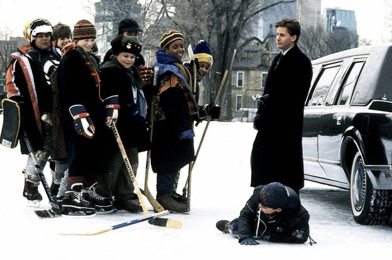 Emilio Estevez and The Mighty Ducks