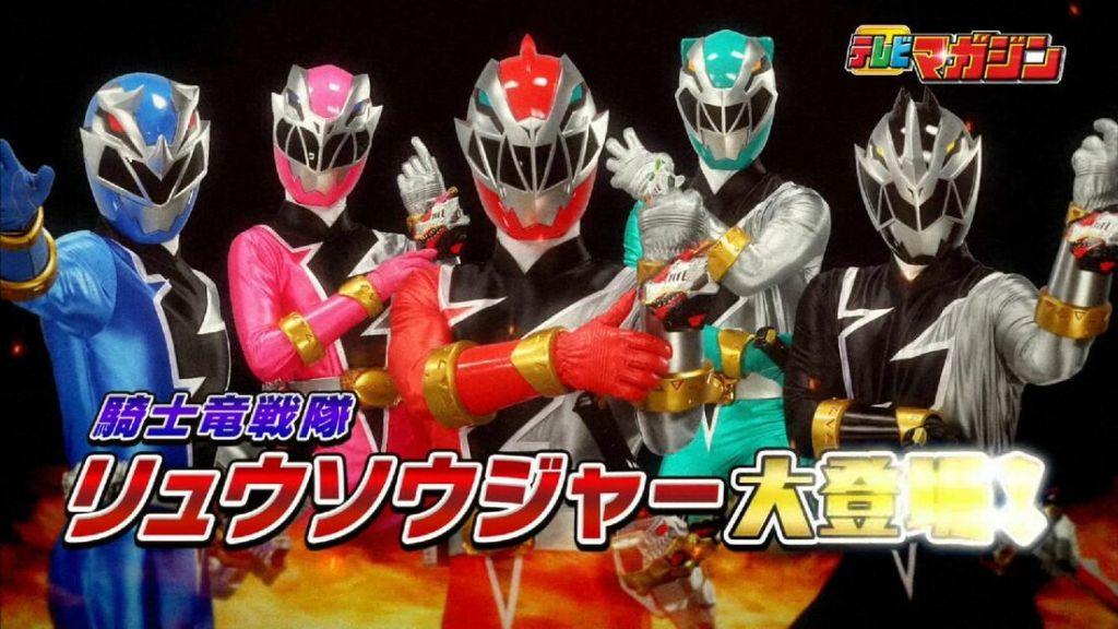Ryusoulger Power Rangers