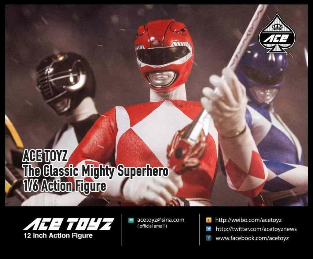 Ace Toyz Power Rangers