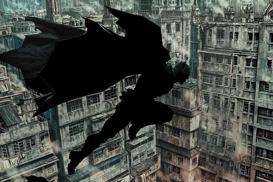 Batman DC Comics silohuette