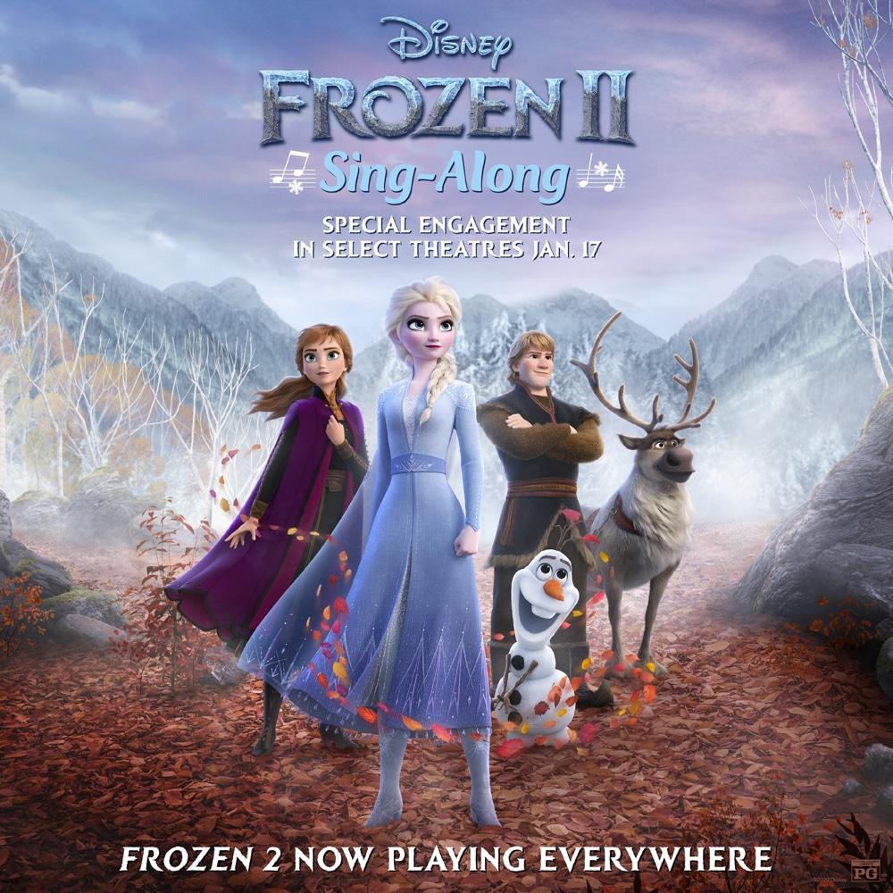 Frozen 2 Sing A Long